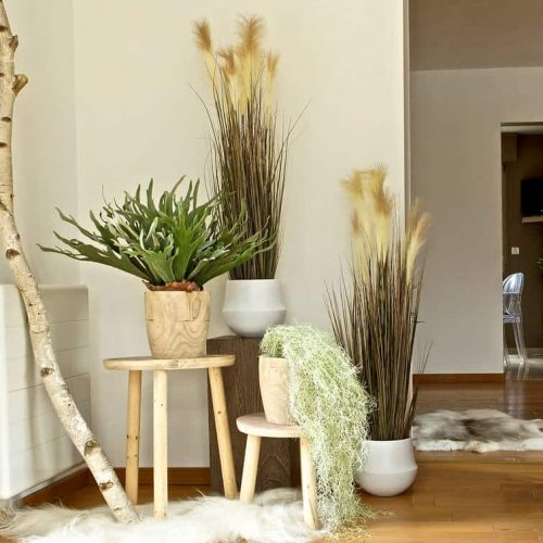 plantes artificielles scandinave