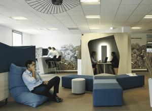 réunion informelle mobilier de bureau